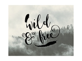 Wild and Free Feathers Prints by Tara Moss