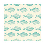 Fish Pattern Prints by Ramona Murdock