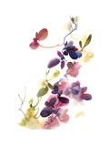 Purple Flower Majesty Posters av Sophia Rodionov
