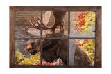 There's a Moose at the Window Prints by Ramona Murdock