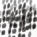 Black and White Drops Pattern Kunstdrucke von Linda Woods