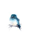 Blue Bud Plakater av Sophia Rodionov