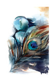 Peacock III Poster av Sophia Rodionov