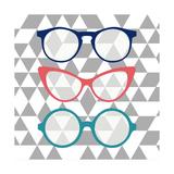 Fashion Glasses Plakat av Bella Dos Santos