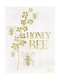 Gold Foil Honey Bee Affiches par Shanni Welsh