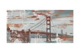 Vintage Golden Gate Affiches par Sam Appleman