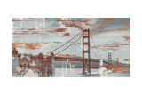 Vintage Golden Gate Poster by Sam Appleman