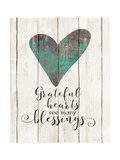 Grateful Hearts Prints by Jo Moulton