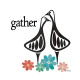 Gather Posters par Shanni Welsh