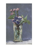 Carnations and Clematis in a Crystal Vase Posters by Edouard Manet