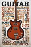 Guitar Riffs Poster