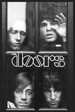 The Doors - Faces In Window Kunstdruck