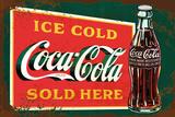 Coca-Cola - stencil art Posters