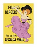 Folies-Bergere, 1900 Schilderijen van Leonetto Cappiello