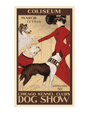 Chicago Kennel Club's dog show Art by George Ford Morris
