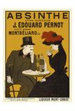 Absinthe. Liqueur Mont-Christ Juliste tekijänä Leonetto Cappiello
