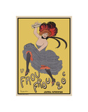 Le Frou Frou 20', journal humoristique Prints by Leonetto Cappiello
