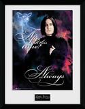 Harry Potter - Snape Always Reproduction encadrée pour collectionneurs