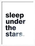 Sleep Under The Stars Poster af Pop Monica