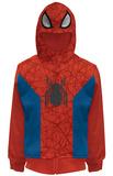 Juvenile: Spider-Man Costume Hoodie Zip Hoodie