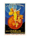 La Chablisienne Ses Chablis Authentiques, 1926 Plakater af Henry Le Monnier