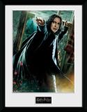 Harry Potter - Snape Wand Reproduction encadrée pour collectionneurs
