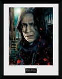 Harry Potter - Snape Reproduction encadrée pour collectionneurs