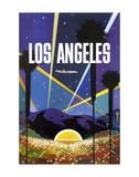Los Angeles Prints by  Vintage Poster