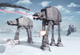 Star Wars - Battle of Hoth Wandgemälde
