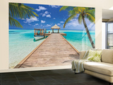 Beach Resort Mural de papel pintado