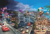 Disney Cars - World Wandgemälde