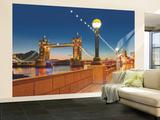 Puente de Londres Mural de papel pintado