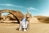 Star Wars - Lost Droids Wandgemälde