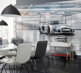 Audi R8 Le Mans Tapetmaleri