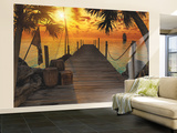 isla del tesoro, La Mural de papel pintado