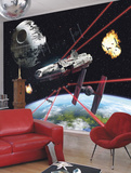 Star Wars - Millennium Falcon Wandgemälde