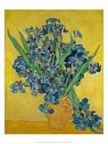 Irises, 1888 Posters av Vincent Gogh