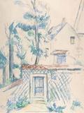 Entree de Jardin, date unknown Prints by Paul Cézanne
