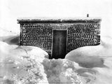 A Miner's Cabin Built from Bottles, Goldfield, Nevada, c 1900-1930 Prints by Charles Pierce