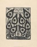 Illustration to Salome by Oscar Wilde, 1906–7 Posters tekijänä Aubrey Beardsley