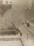 Snapshot From My Window, New York, 1907 Affiches par Alfred Stieglitz