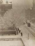 Snapshot From My Window, New York, 1907 Kunstdrucke von Alfred Stieglitz