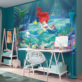 The Little Meramid - Ariel Wallpaper Mural