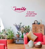Your Smile Decalcomania da muro