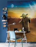 Star Wars - Master Yoda Tapetmaleri