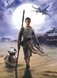 Star Wars - Rey Wallpaper Mural