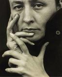 Portrait of Georgia O'Keeffe, 1918 Poster von Alfred Stieglitz