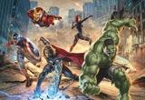 Avengers - Street Rage Wallpaper Mural