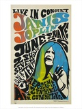 Janis Joplin concert poster, 1970 Kunstdruck von  Unknown