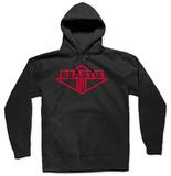 Hoodie: Beastie Boys - Red Ink Logo Pullover con cappuccio